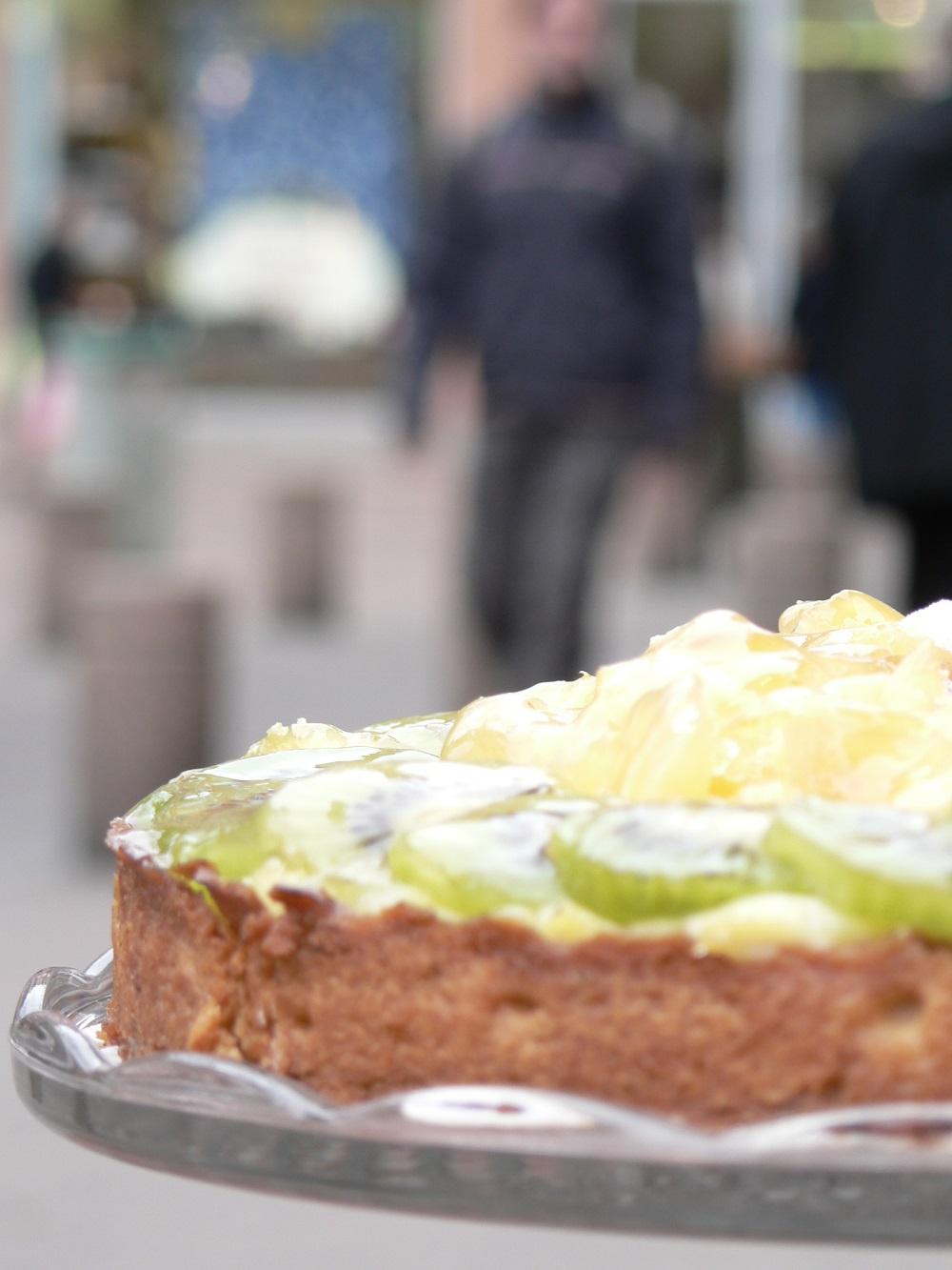 Tarte aux kiwis et ananas